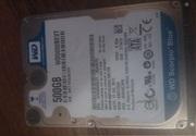 Жесткий диск WD5000bevt