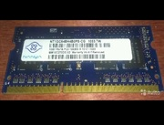 Nanya NT1GC64BH4B0PS-CG DDR3 1GB sodimm 1333mhz
